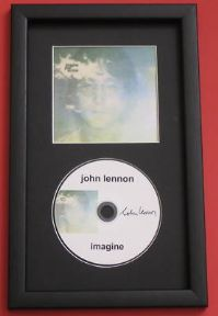 JOHN LENNON - IMAGINE CD DISC MEMORABILIA presentation